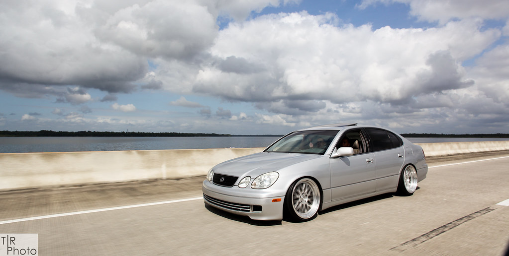 Slammed Lexus GS300 Tommy Rohloff Flickr