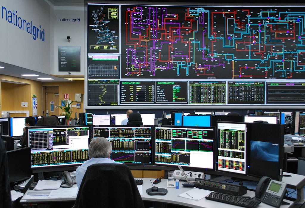 Energy Minister Michael Fallon Visits The National Grid Co