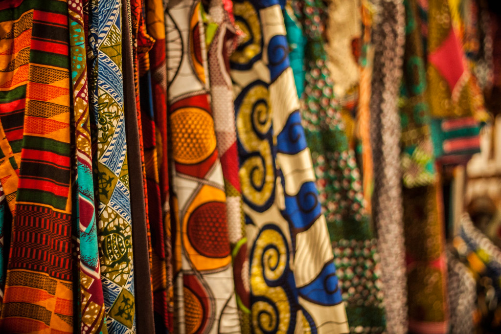 african fabric - barcelona | great vibrant african dresses