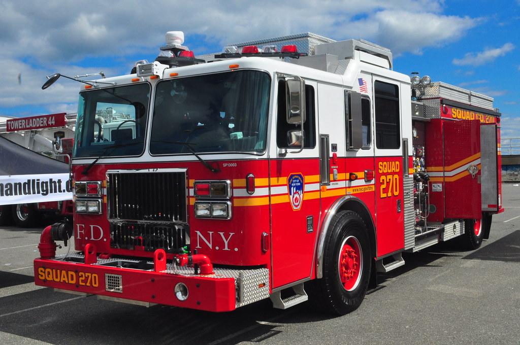 FDNY Squad Company 270 - Edub Productions Fire Apparatus Photography