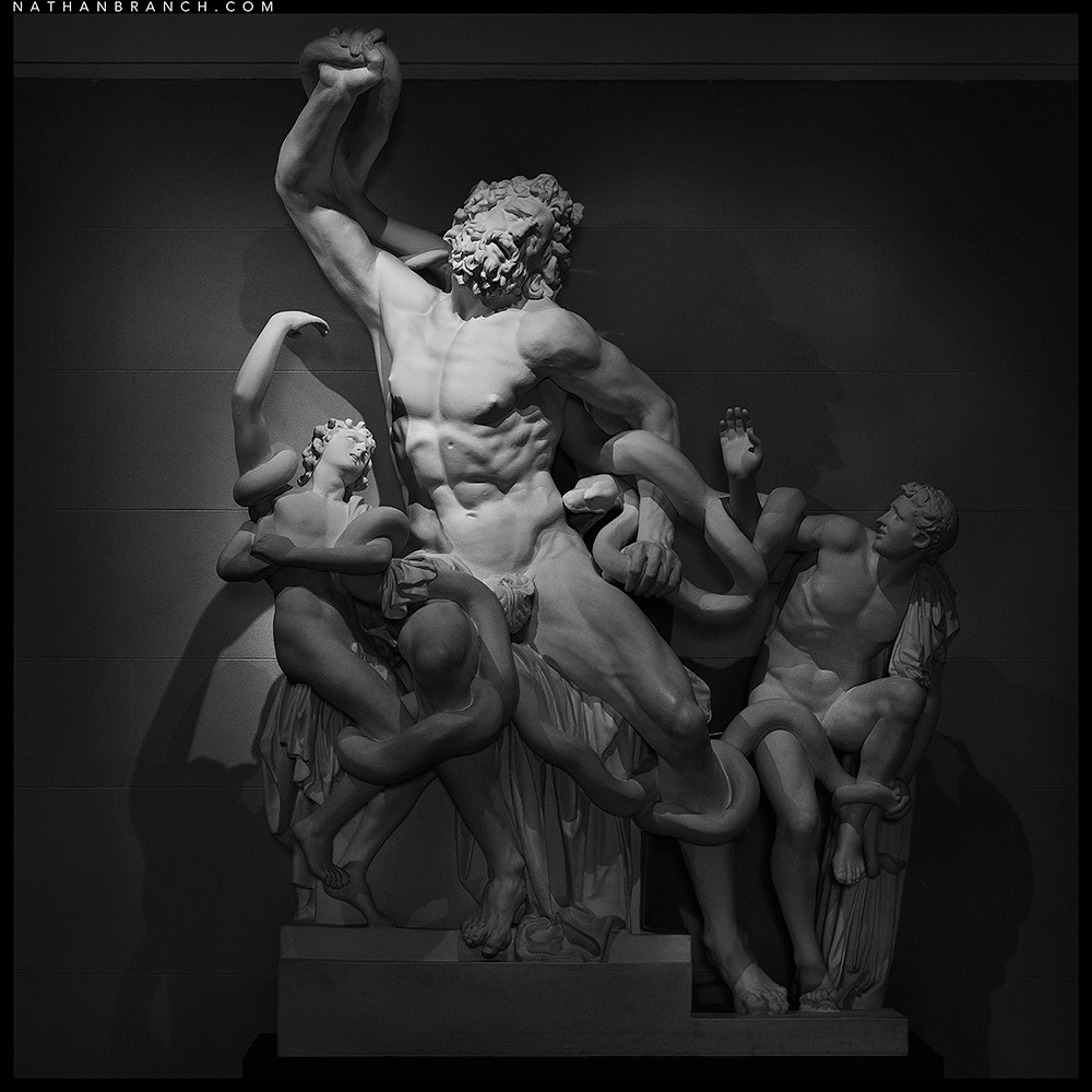 death of laocoon The other swoons erotically, as if not only accepting but embracing death   michelangelo was in rome at the time the laocoön was found,.