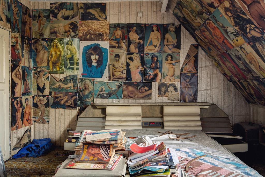 Porn Room  Urbex Session  Abandoned House 02 Follow Me -9603