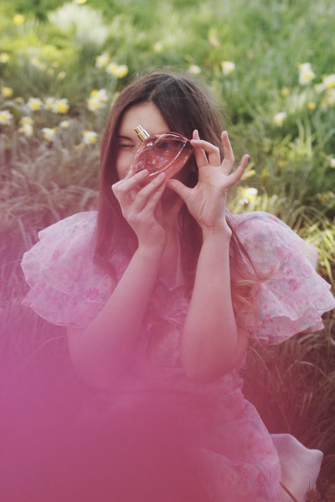 Calvin Klein Euphoria Spring Fashion Floral Photography Pink