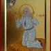 2014 Icône de saint Séraphim de Sarov - Saint Seraphim of Sarov Icon (Main de - hand of : Monique Lebel d'Anaba)