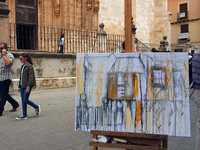 """concurso de pintura rápida """"Villa de Aranda"""""""