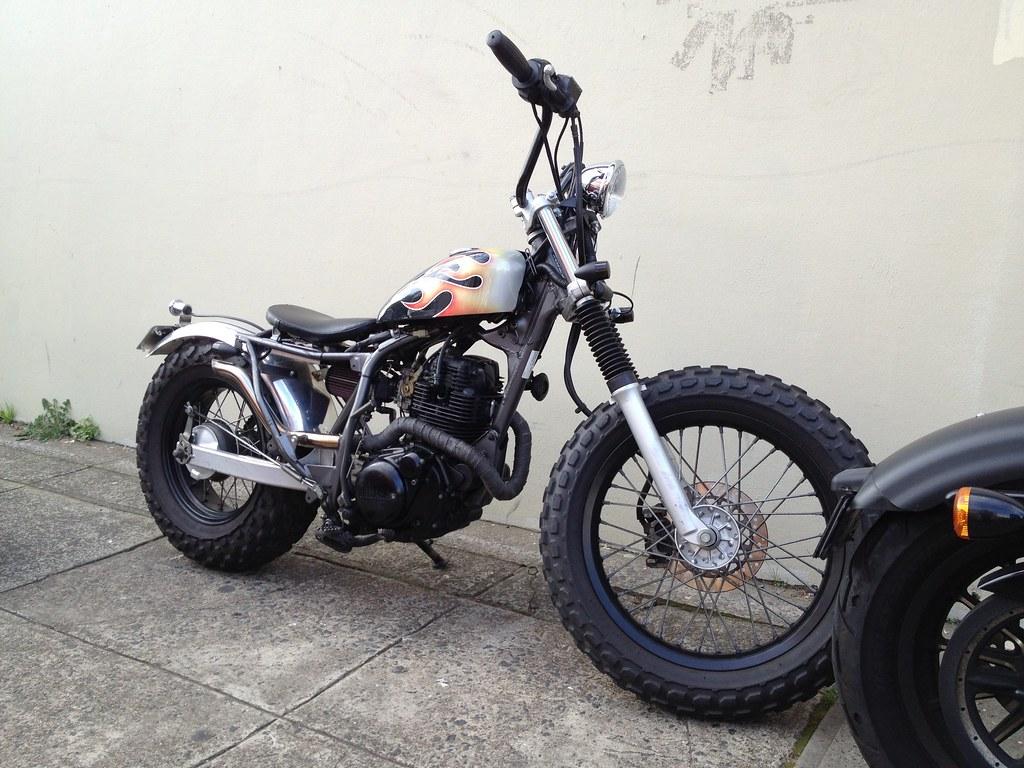 Yamaha Tw Bike