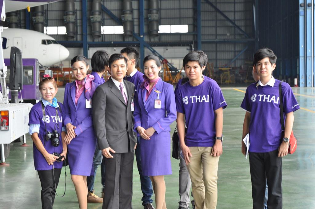Thai Airways Cabin Crew Beashel Flickr