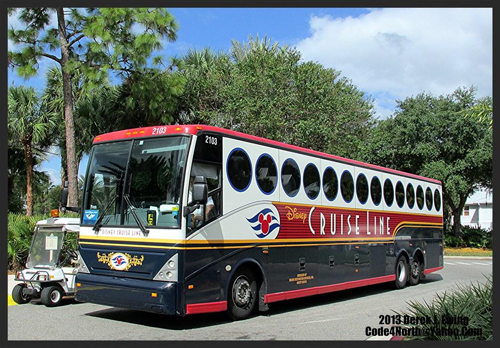 Disney Cruise Line Magic Disney Cruise Line Bus