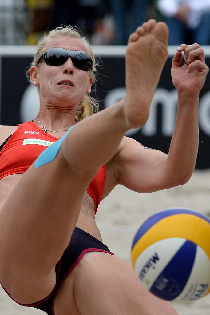 Sexy Volleyball Jenter Cameltoe