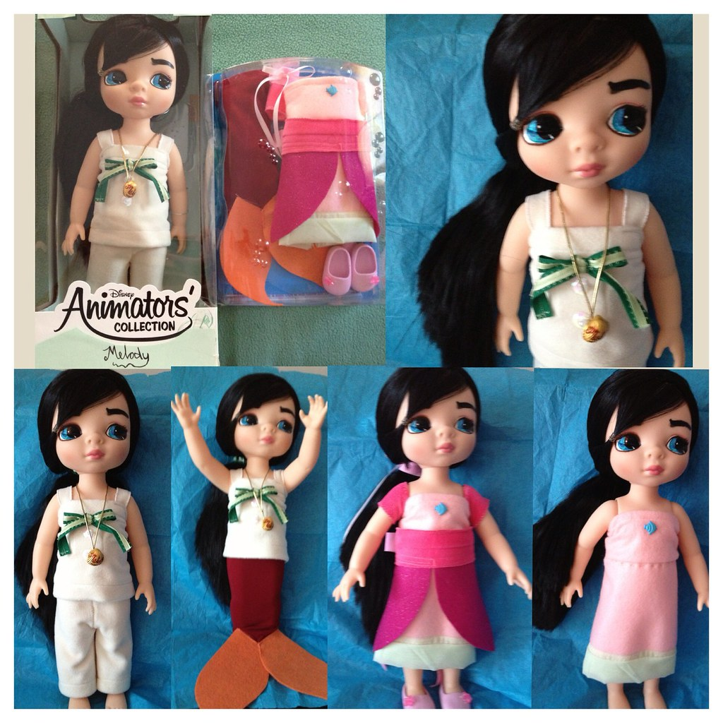 Disney Animators' Collection Melody | Check out this OOAK ...