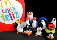 Los Pingüinos de Madagascar salieron de la Cajita Feliz
