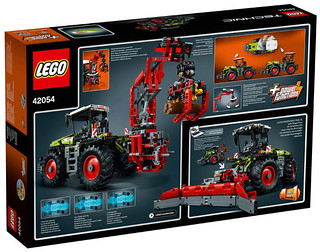 LEGO Technic 42054 back