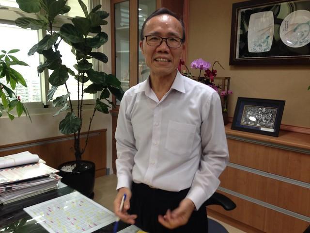 漁業署長陳添壽指出,漁業必須根基自然資源維繫,才能永續。攝影:廖靜蕙