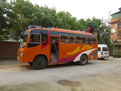 Our bus for the ride to Arughat Bazar