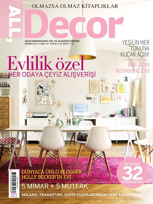 Home Decor Magazine Holder Living Room