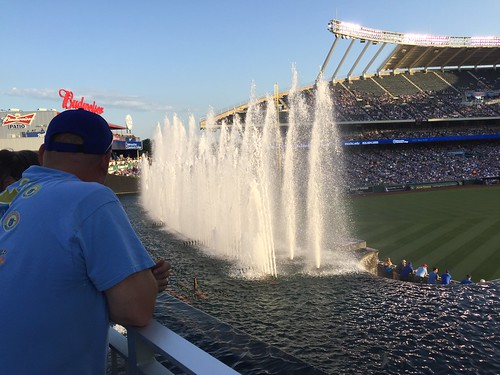 The Fountains at Kauffman Stadium
