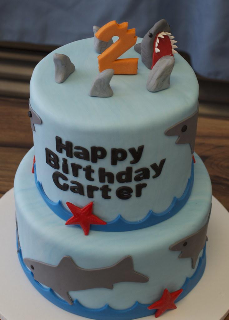 Shark Birthday Cake Pan
