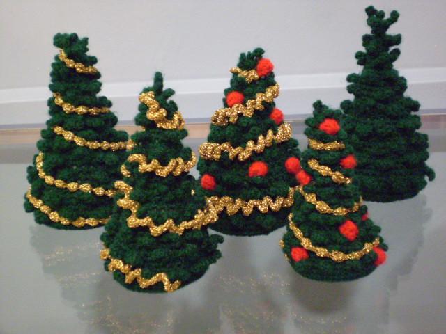 Amigurumi Uncinetto Natale : crochet christmas trees/amigurumi alberi di natale Flickr