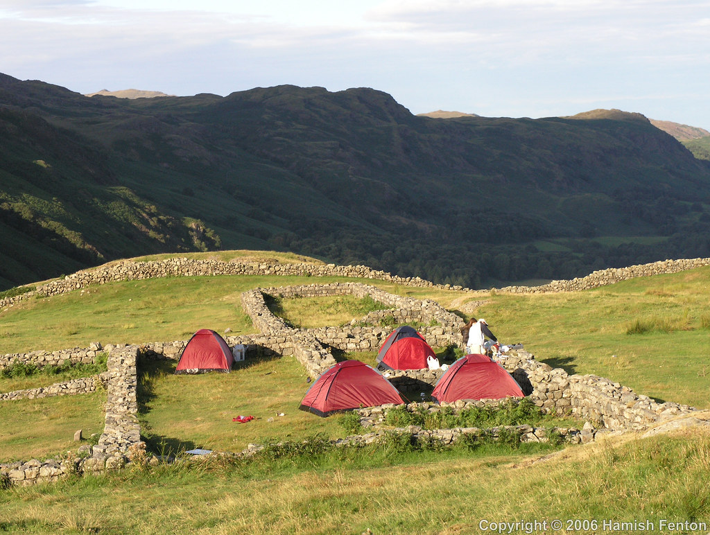 Camping World Headquarters >> Camping in Hardknott Roman Fort | A family camping in the he… | Flickr