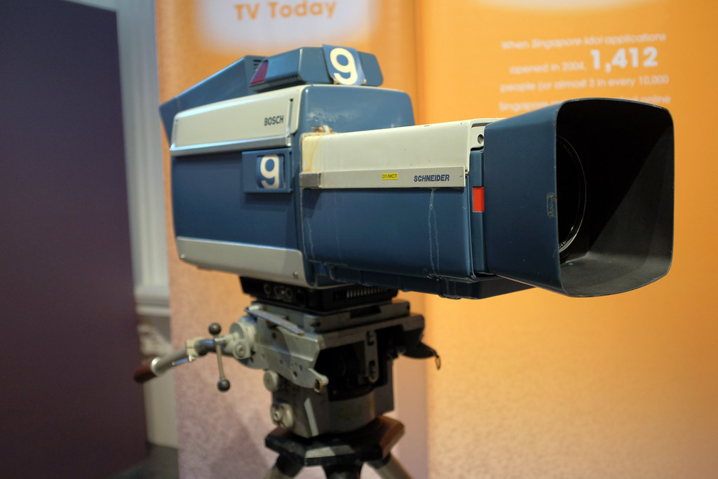 Bosch colour tv camera 1974 50 years of television an - Tv in camera ...