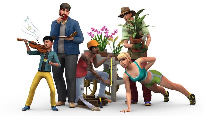 essai gratuit Les Sims 4
