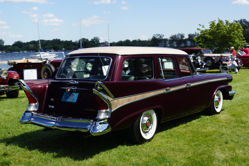 1958 packard station wagon beautiful weather excellent