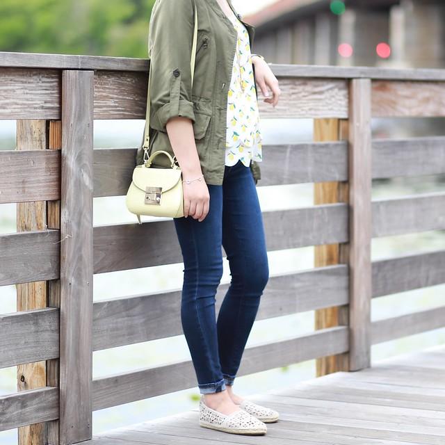 OOTD: Summer Lemons on www.whatjesswore.com