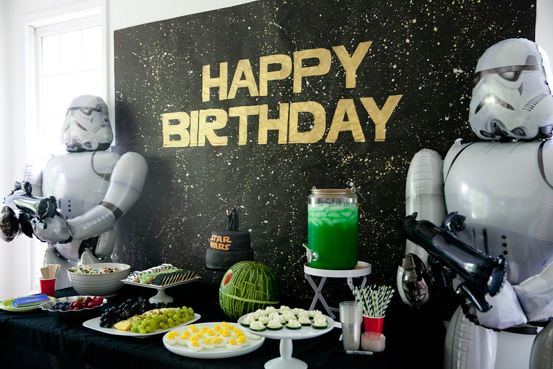 Andrew's Star Wars Birthday Party