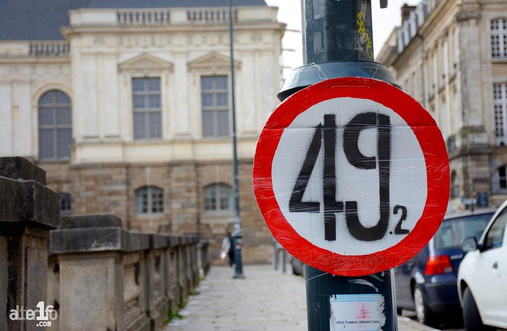 [23 Juin 2016] - Un jour, une photo... 49.3, excès de vitesse