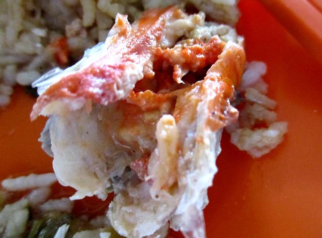 Lovely kor in the prawn's head