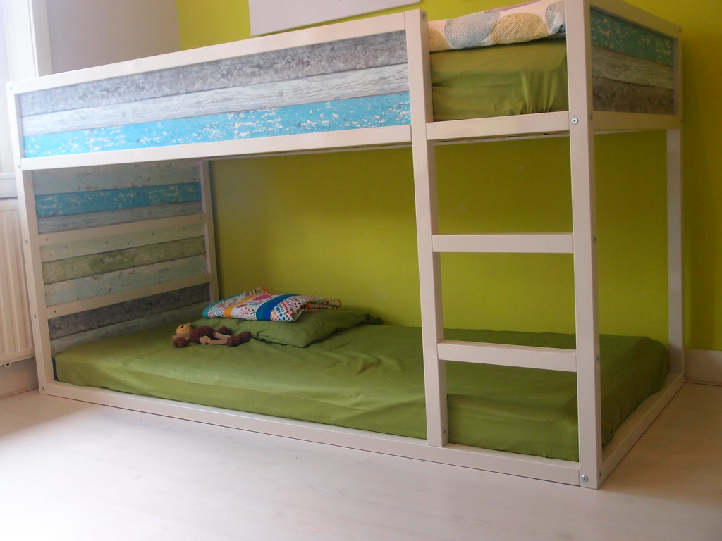 Ikea hack Kura bed | Ikea Kura hack, DIY bed with ...