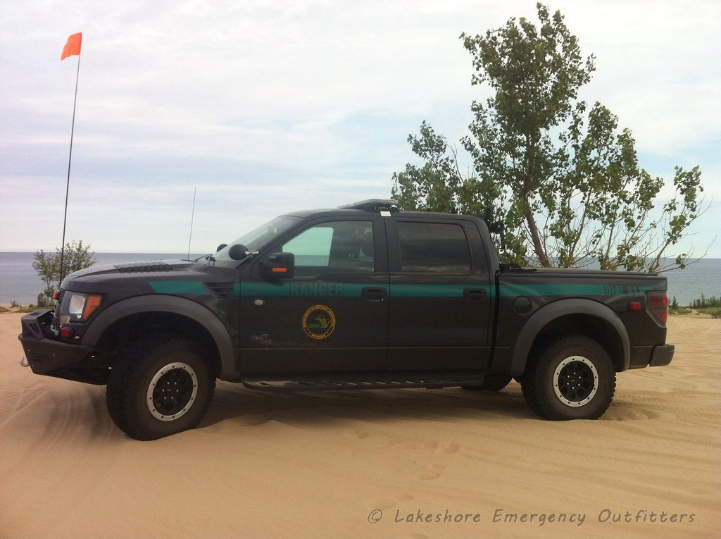 Michigan DNR Park Ranger 2013 Ford Raptor SVT ...
