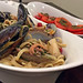 Linguine with squid and shellfish