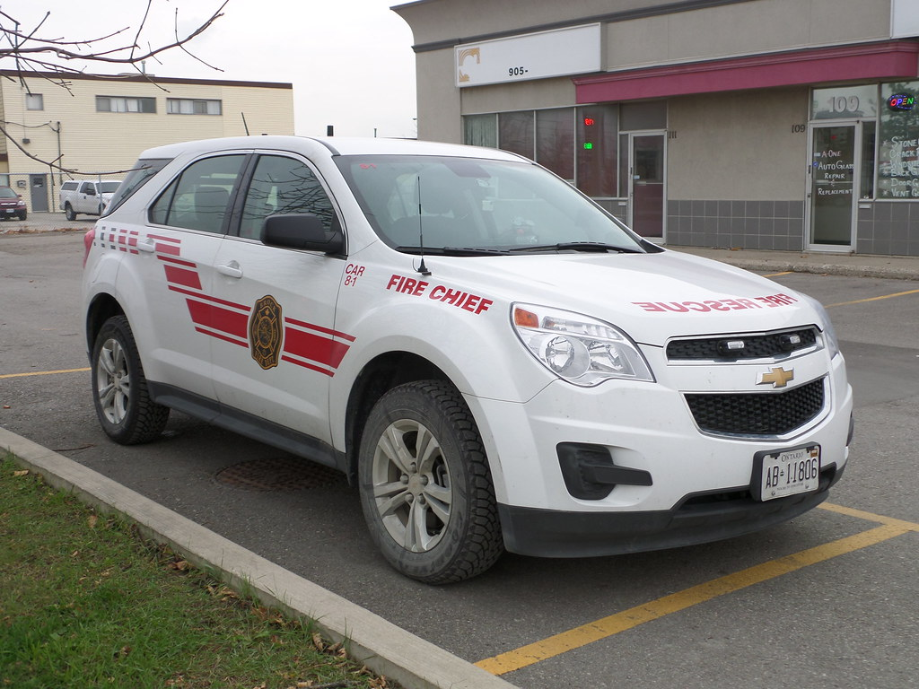 Brock volunteer fire department fire chief car 8 1 flickr