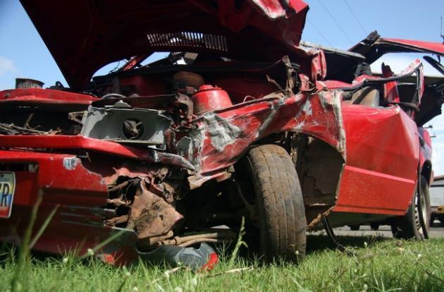 Un muerto y un herido arrojó un siniestro automovilístico en el elevado de Sidor en Puerto Ordaz