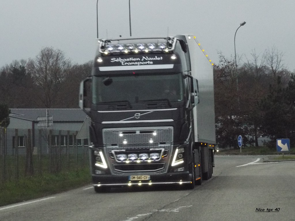 Transport Naulet 49 Volvo Fh16 750 Nico Tgx 40 Flickr