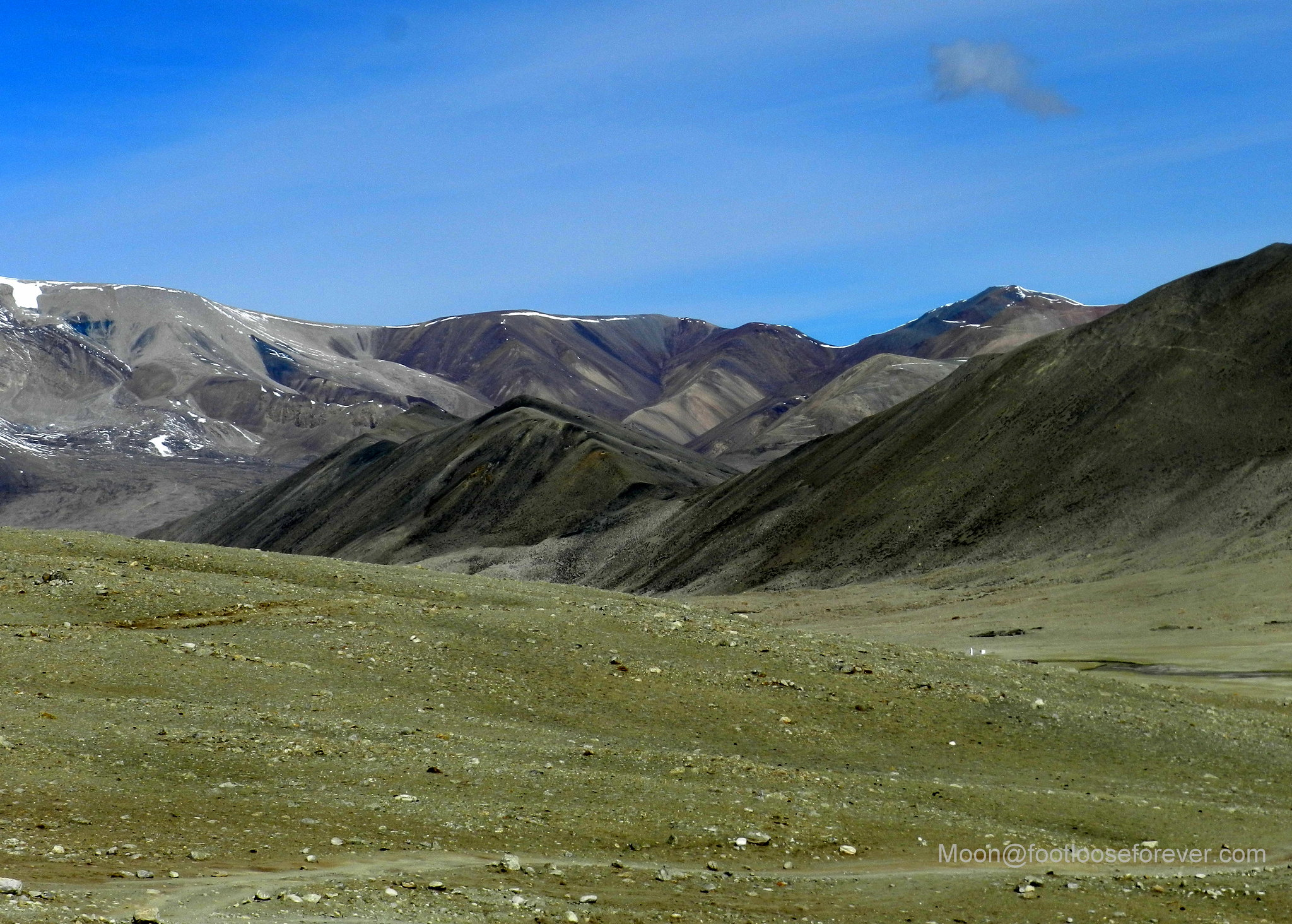 mountain, desert, north sikkim, gurudongmar