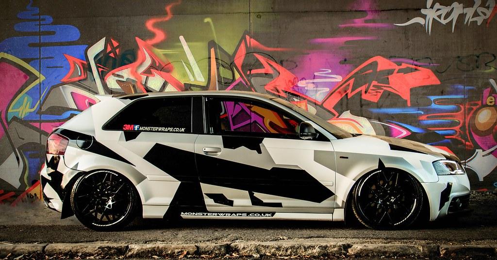 Audi A3 Camo Graffiti Audi A3 Camo Graffiti Flickr