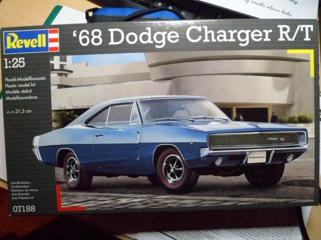 *Montage en cours* Dodge Charger R/T 68 [Revell 1/25] 16274577625_c666f9d82e_o