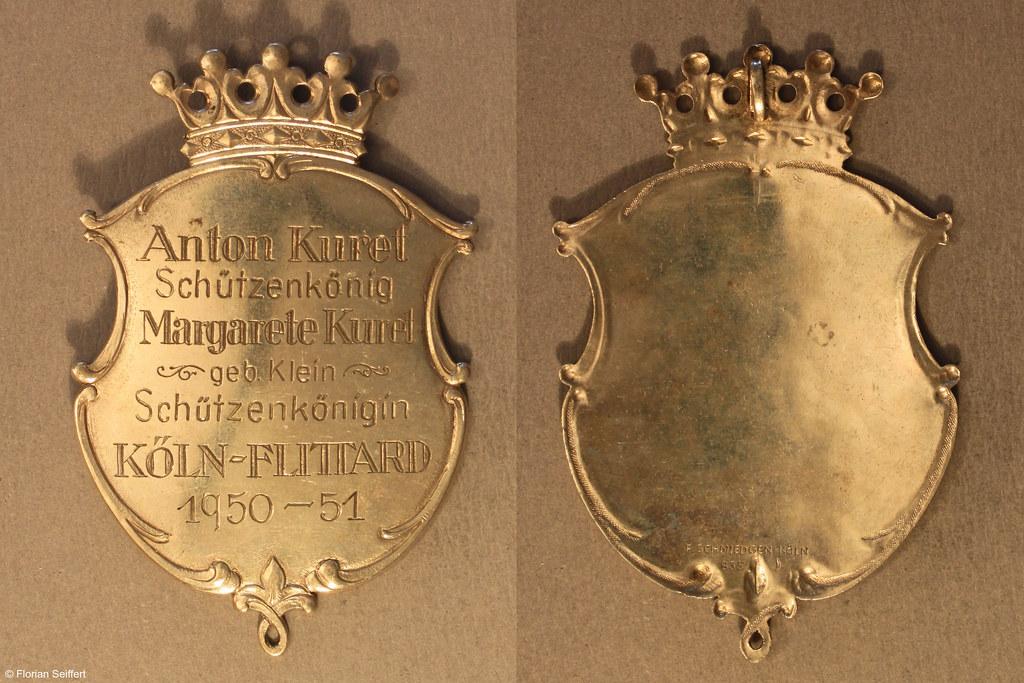 Koenigsschild Flittard von kuret anton aus dem Jahr 1950