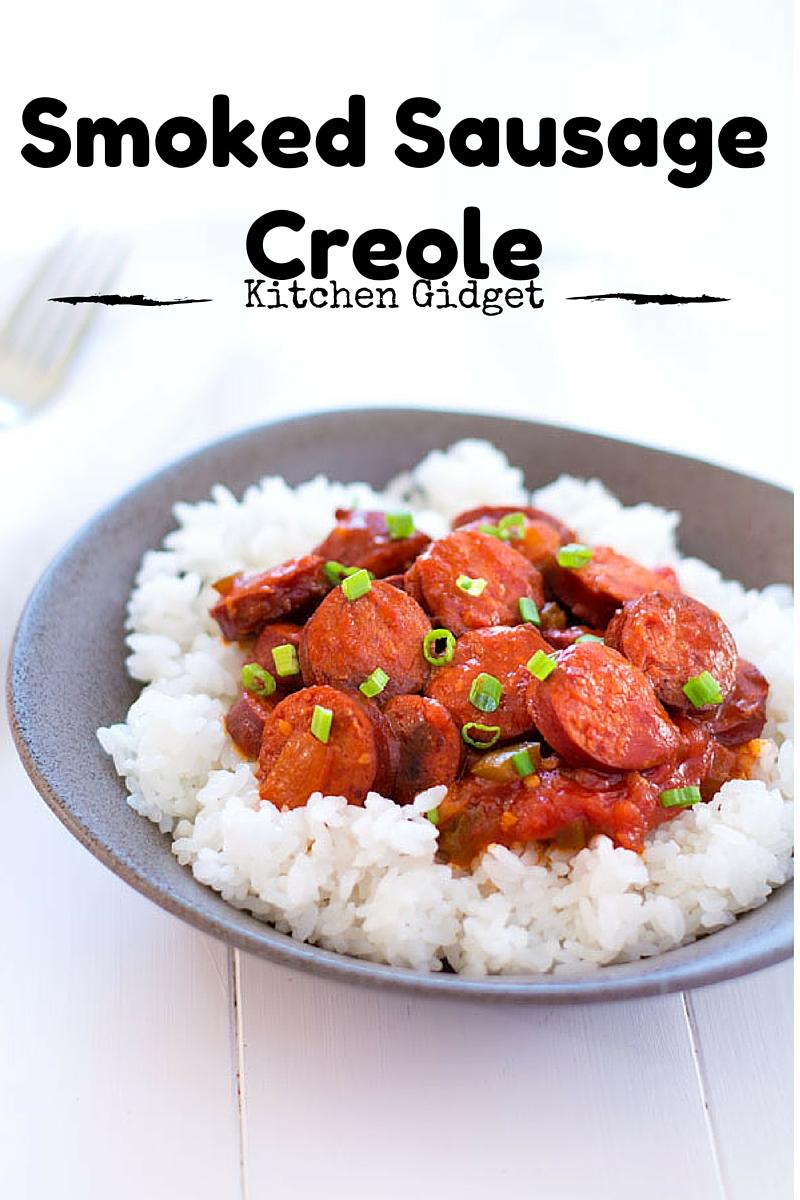 Smoked Sausage Creole