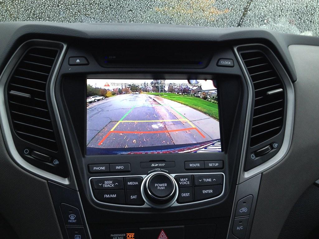 Rear View Camera, 2014 Hyundai Santa Fe Sport | Very helpful… | Flickr