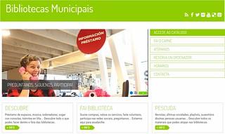 web bibliotecas municipais da coruña