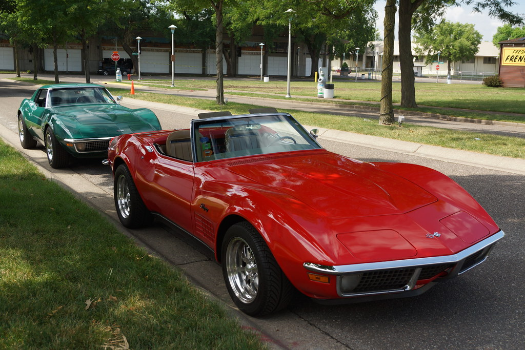 Chevrolet >> 1970 Chevrolet Corvette Stingray Roadster &1971 Coupe | Flickr