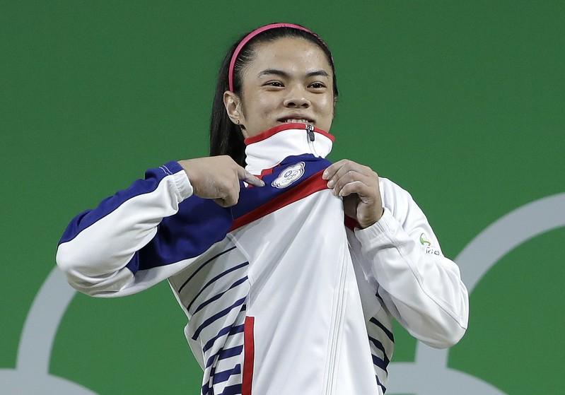 許淑淨於2016里約奧運會中奪得53公斤級金牌。(達志影像資料照)