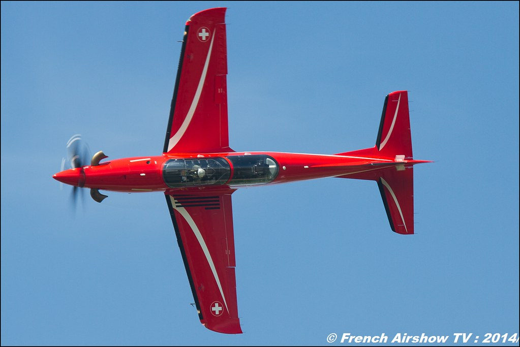 Pilatus Heritage Flight PC-21 AIR14 Payerne 2014 Canon Sigma France contemporary lens