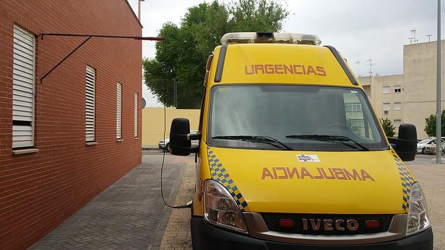 AionSur 26216069604_b4a26ccb35_z_d Los técnicos de ambulancia del Centro de Salud piden instalaciones adecuadas para los vehículos Salud
