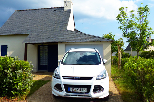 Bretagne-Urlaub 2016: Ferienhäuschen auf der Rhuys-Halbinsel - Foto Brigitte Stolle 2016