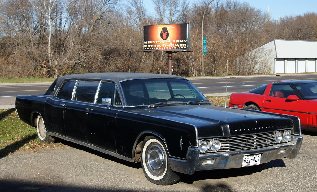 1966 Lincoln Continental Limousine I Took A Few Pictures