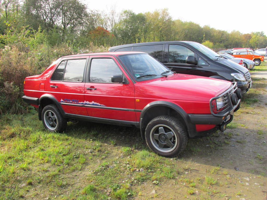 Volkswagen Jetta Ii Modiefied To Country 4x4 Granada Uwe